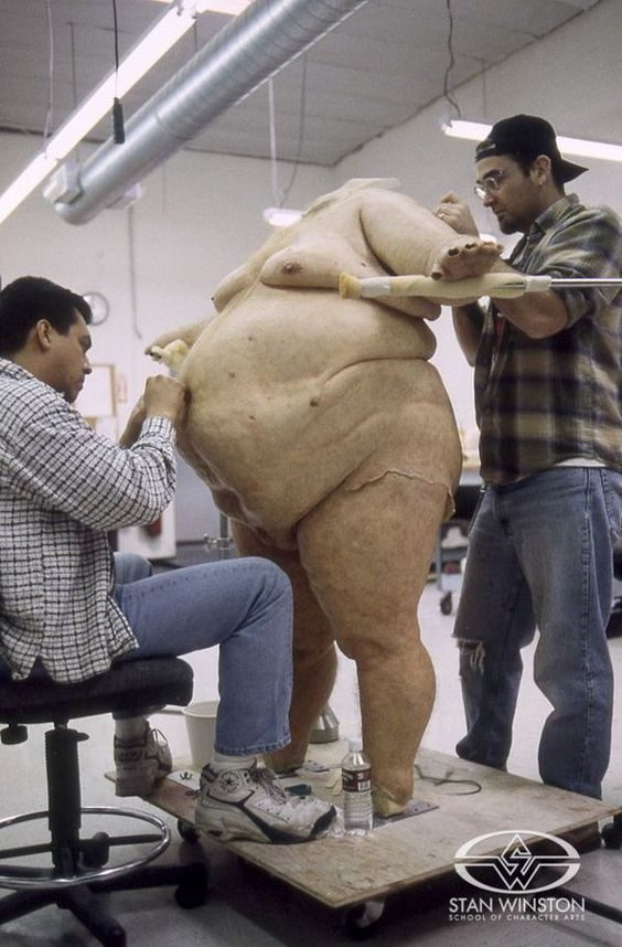 how to make a fat suit at home